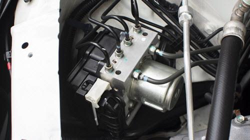 Jaguar ABS Unit Module Control Box Check