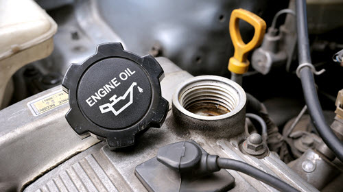 Land Rover Engine Fuel Filling