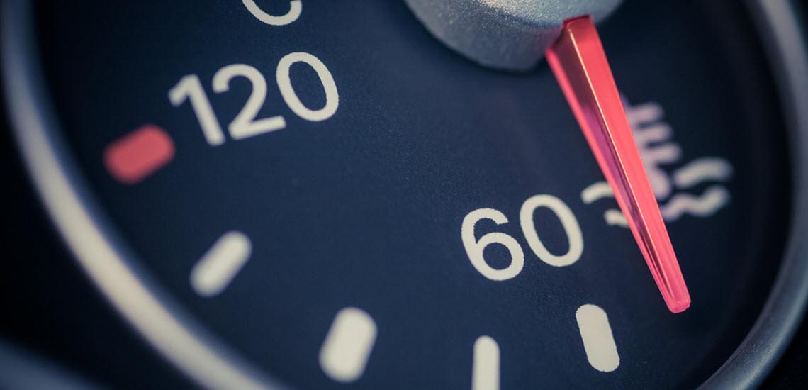 Volkswagen Coolant Temperature Gauge